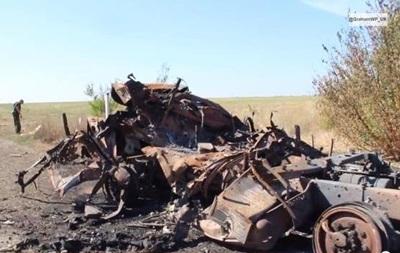 18+ Депортированный из Украины журналист показал видео уничтоженного грузовика с беженцами