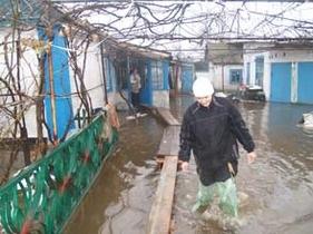 В Крыму подтоплены более 40 домов
