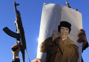 Силы Каддафи перешли в контрнаступление
