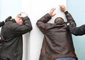 Донецкая милиция задержала двух грабителей банка