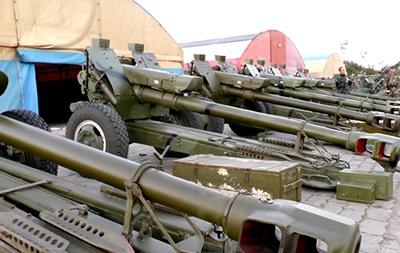 Нацгвардия показала артиллерию, восстановленную после АТО