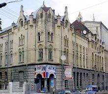 В центре Львова горел муниципальный театр