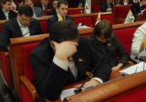 Заседание Киевсовета началось с молебна