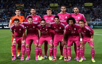 Реал признан лучшим клубом Европы в 2014 году