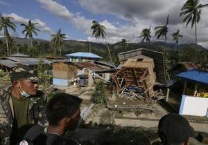 Число жертв тайфуна Пабло превысило тысячу человек