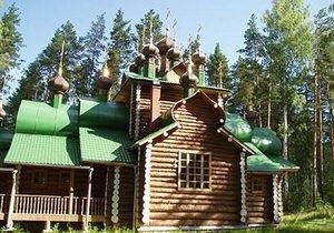 В России сгорел храм, построенный на месте уничтожения останков царской семьи