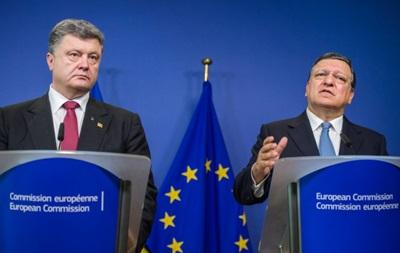 Порошенко завтра в Киеве встретится с Баррозу
