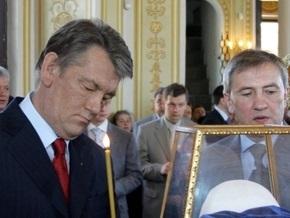 Ющенко вызывает Черновецкого из отпуска  на жесткий разговор