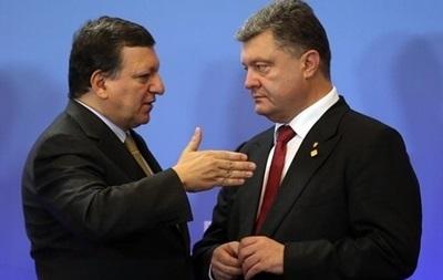 Порошенко в Киеве сегодня встретится с главой Еврокомиссии Баррозу