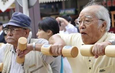 Кількість довгожителів Японії досягла рекордного рівня