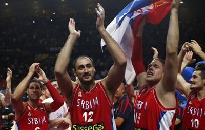 В финале чемпионата мира по баскетболу США сыграет с Сербией