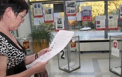 Крымчане не находят себя в списках избирателей
