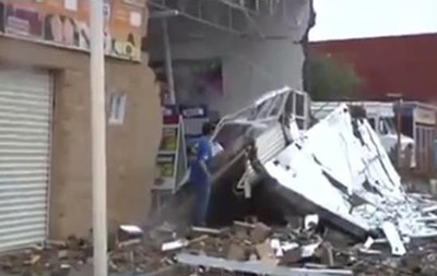 На западное побережье Мексики обрушился ураган