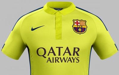 Барселона показала свою новую форму желтого цвета