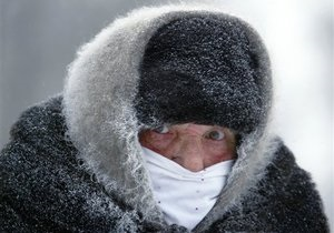 В Москве температура упала до минус 20 градусов