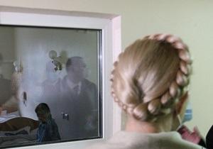 В харьковской больнице сообщили, что Тимошенко начала прием пищи