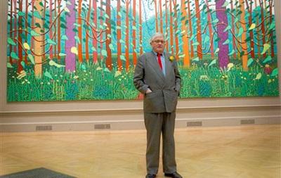 В Нацмузее покажут фильм о творце британского поп-арта Дэвиде Хокни