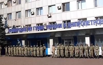 В зону АТО отправились бойцы батальона Кривбасс