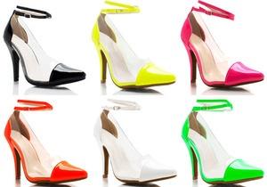 Тренд лета: туфли с прозрачными вставками