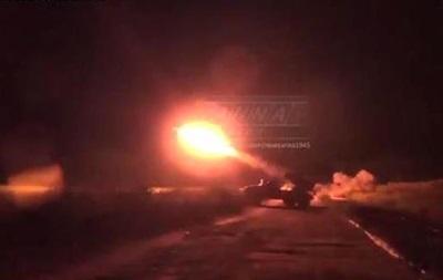 Сепаратисты показали, как стреляют из  Градов