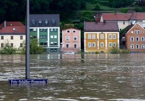 Юго-восток Германии остается под водой