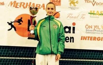 Украинка завоевала два золота на международном турнире по карате