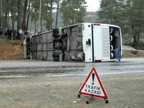 Автобус с россиянами попал в ДТП в Турции: пострадали 11 человек