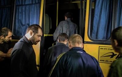Под Донецком обменяли пленных: 30 силовиков на 60 сепаратистов