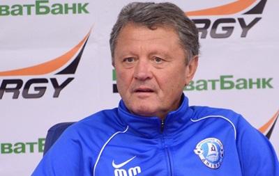 Маркевич отправит двух игроков Днепра в глубокий запас