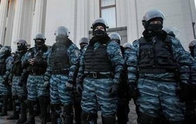 В Киеве подрались бывшие  беркутовцы  и футбольные ультрас