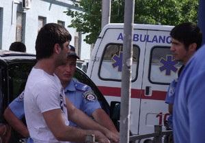 СМИ: В Симферополе водитель сломал гаишнику челюсть
