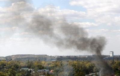 В Донецке с утра слышны залпы артиллерии