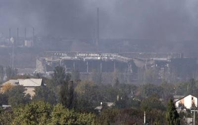 За сутки сепаратисты трижды штурмовали аэропорт Донецка - штаб АТО