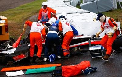Формула-1: Жюль Бьянки после тяжелой аварии доставлен в госпиталь