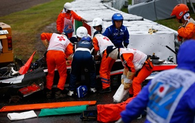 Пилот Формулы-1 впал в кому после аварии на трассе