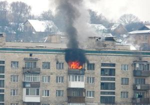 В Подольском районе Киева горела квартира
