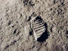 NASA показала следы астронавтов на поверхности Луны