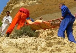 В Крыму гражданка России упала с горы и погибла