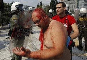 Беспорядки в Афинах: задержаны 15 человек