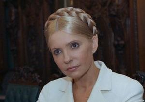 Тимошенко вновь зовут в Брюссель