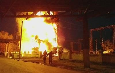 На Луганской ТЭС потушили пожар - командир Айдара
