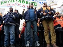 Греция бастует против реформ