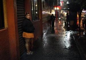 В Молдове введут штраф за пользование услугами проституток