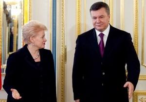 Президент Литвы: Успех саммита Украина-ЕС будет зависеть от решения ситуации с Тимошенко