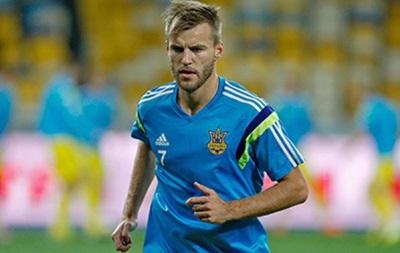 Ярмоленко стал рекордсменом по количеству голевых передач в сборной Украины