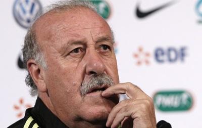 Дель Боске рассказал, когда покинет сборную Испании