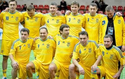 Сборная Украины не поедет в Москву на Кубок Легенд-2015