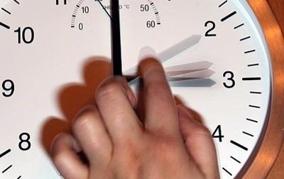 Перевод часов на час вперед в 2014 году
