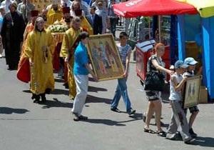 В Сумах УПЦ МП проведет детский крестный ход
