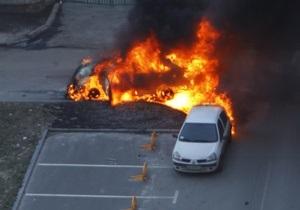 Взрыв автомобиля в центре Киева. Фоторепортаж очевидца